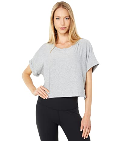 Beyond Yoga Featherweight Spacedye Never Been Boxy Cropped Tee