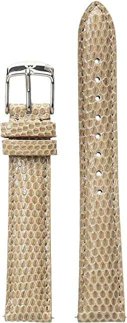 Michele - 16mm Cashmere Lizard Watch Strap