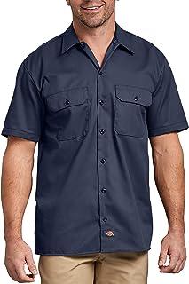 Dickies Men's Short-Sleeve Two-Tone Work Shirt