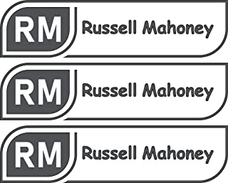 All-purpose, Custom Name Labels, Name And Initials, Multiple Colors And Sizes, Waterproof, Microwave And Dishwasher Safe, Washer And Dryer Safe, Custom Name Label For School, Custom Name Labels
