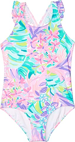 Issie UPF 50+ Swimsuit (Toddler/Little Kids/Big Kids)