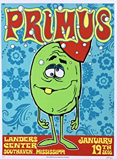 Primus Poster 2016 signed by Frank Kozik