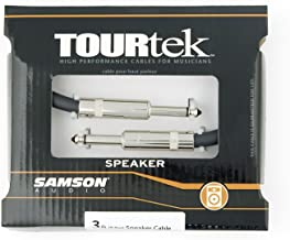 Samson Tourtek TSQ3 3' Speaker Cable with (2) 1/4 Connectors