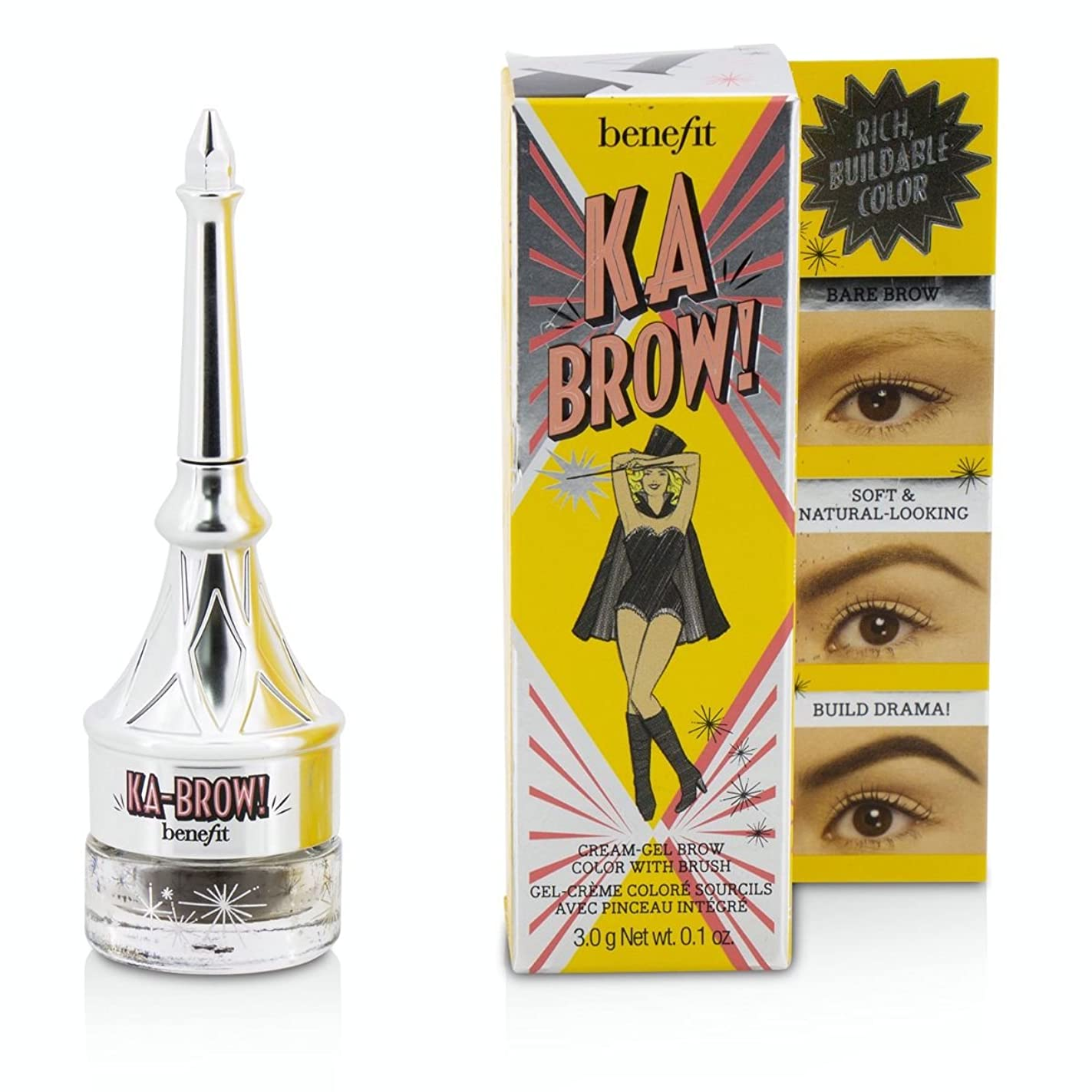 ハング嫌がらせ仮定、想定。推測[Benefit(ベネフィット)] ブラシでのKa眉クリームジェル眉色 - #4(ミディアム) 3g/0.1oz