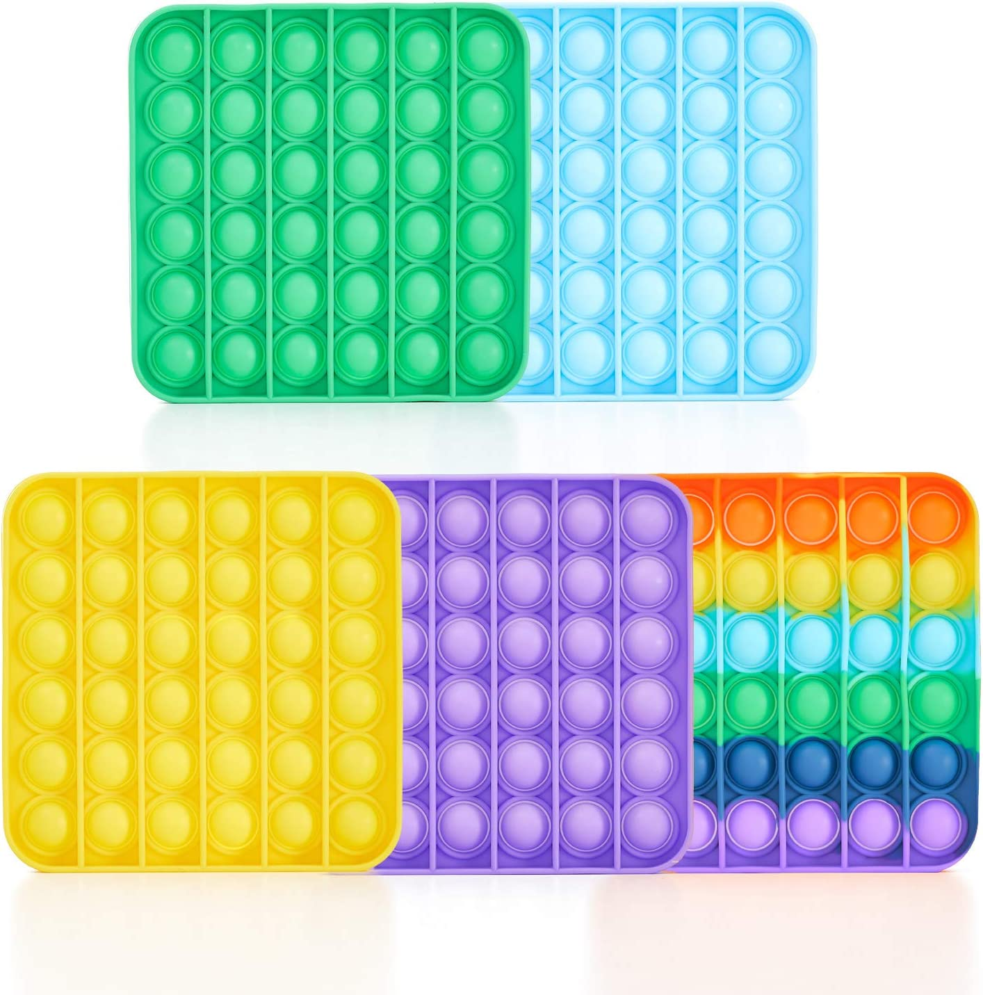 Pop Fidget Toy specialty shop 5PCS Arlington Mall Push Sensory S Autism Bubble