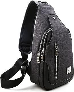 Sling Bag, Sling Backpack Outdoor Hiking Travel Daypack Shoulder Chest Side Bags Crossbody Pack for Men Women Girls Boys