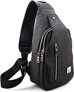 Sling Bag, Sling Backpack Outdoor Hiking Travel Daypack Shoulder Chest Side Bags Crossbody Pack for Men Women Girls Boys