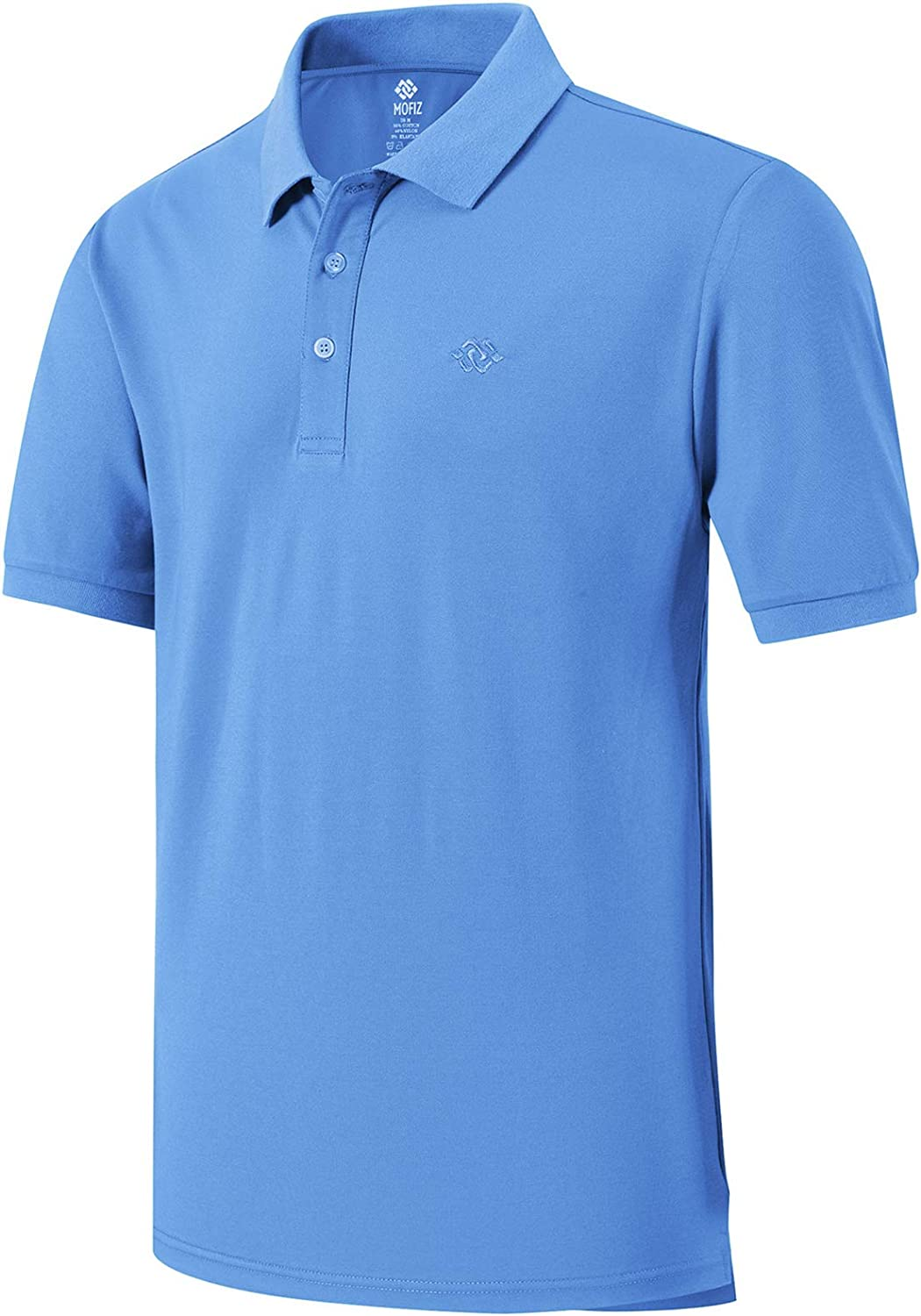 MoFiz Casual Golf Shirts Max 74% OFF for Men Dry Polo Shirt Men's Fit with New sales