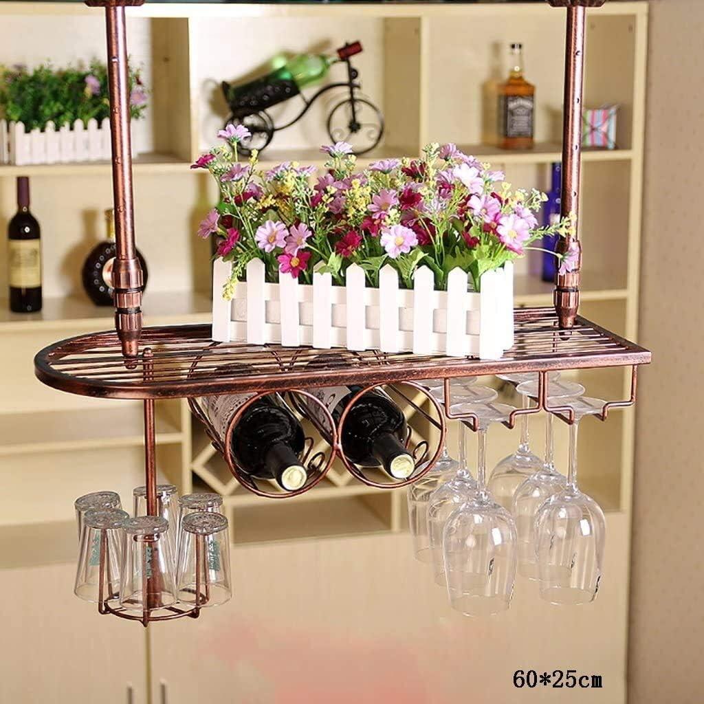 AERVEAL Wine Holder Shelf Hangin famous Racks Glass Year-end gift Rack