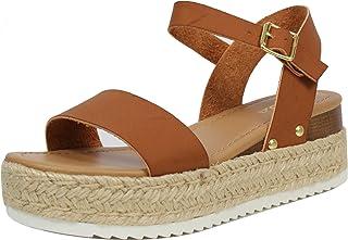 38c97a8fe Amazon.com  Brown - Platforms   Wedges   Sandals  Clothing