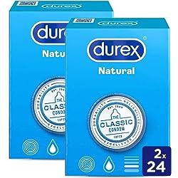 Durex Preservativos Natural Comfort - 48 Condones