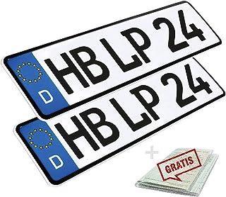 Suchergebnis Auf Für Nummernschilder L P Car Design Nummernschilder Autozubehör Auto Motorrad