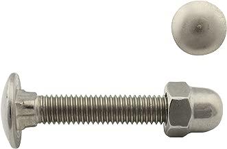 lot de 20 Dresselhaus tire-fonds collet carr/é sans ecrou a2 m8 x 30 mm