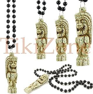 Hawaiian/parrothead Stone Look Tropical Tiki Necklace