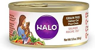 Halo Grain Free Indoor Salmon Recipe Wet Cat Food