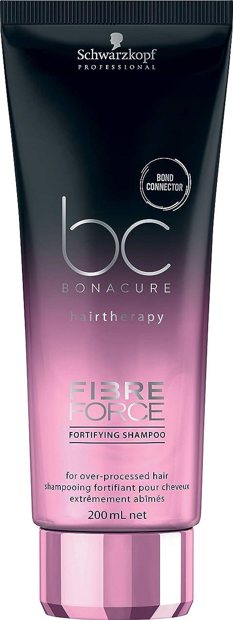 山岳眠る寛容シュワルツコフ BC ボナキュア ファイバー フォース フォーティファイ シャンプー Schwarzkopf BC Bonacure Fibre Force Fortifying Shampoo for Over-Processed Hair 200 ml [並行輸入品]