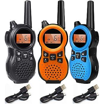 特定小電力トランシーバー 3台セット TRH 866 USB充電式多機能省電力小型無線機 コンパクト設計 1対多交信可能です 資格不要・アマチュア無線等の免許も不要!どなたでも気軽にご利用いただける
