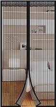 Halovie Vliegenhordeur, magnetisch, automatische sluiting, zonder boren, eenvoudig te installeren, bescherming tegen insec...