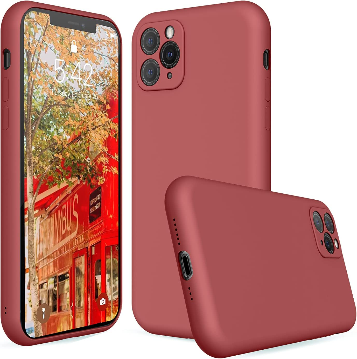 iPhone 11pro Silicone Case Camellia,Liquid Silicone Case Compatible with iPhone 11pro,Protective Cover Case for iPhone 11pro Camellia 5.8 Inch