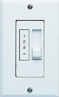 Concord Fans PD-003 Remote 3 Speed Slide Bar Control Requires Standard 2 Wire Ground Installation