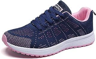 QZBAOSHU Femme Homme Marche Running Chaussures Baskets