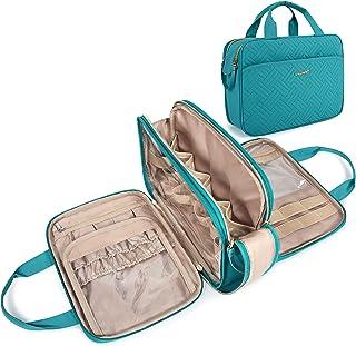 حقيبة كبيرة لأدوات العناية الشخصية، منظم المكياج للسفر من باجسمارت مقاوم للماء، حقيبة مستحضرات التجميل للإكسسوارات، شامبو،...