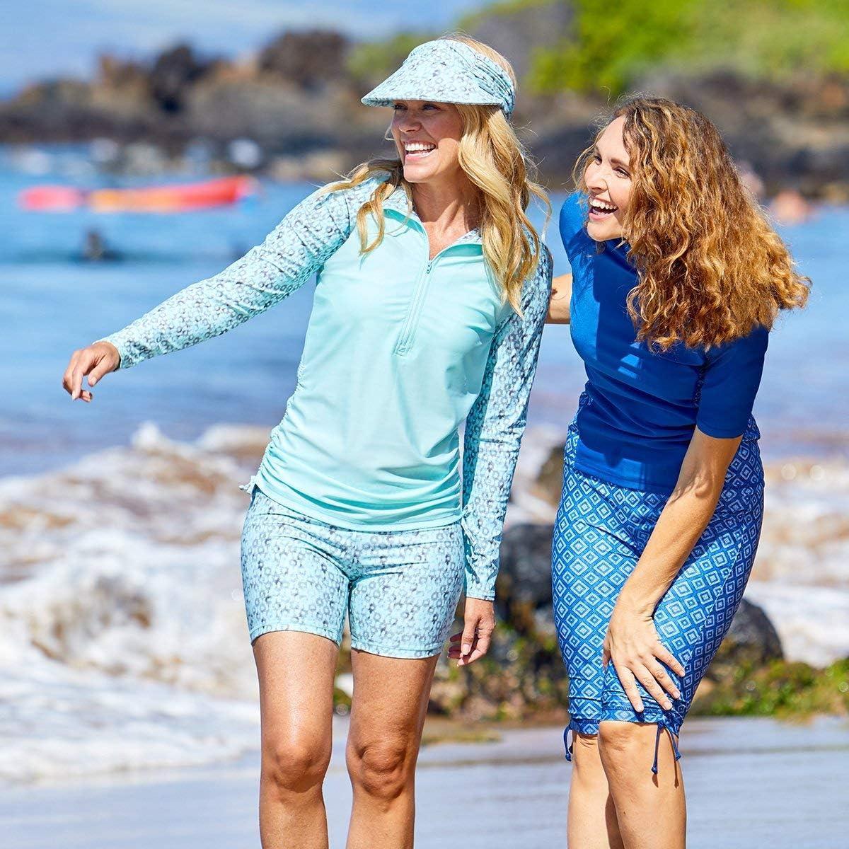 UV SKINZ UPF 50 Womens Swim Visor