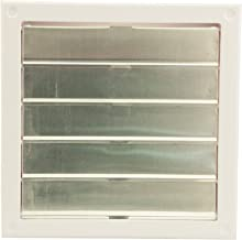 Cool Attic CX2121 Automatic Gable Vent Shutter, High Impact One-Piece ABS Cycolac Frame, 22