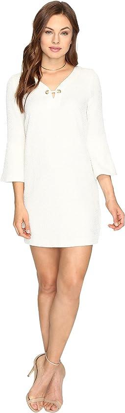 Textured Dot Dress KSDK7797