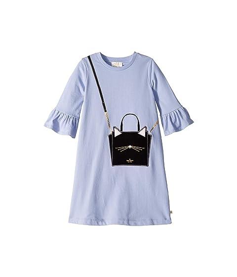 Kate Spade New York Kids Cat Handbag Dress (Little Kids/Big Kids)