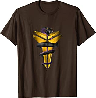 FTD Apparel Mens Retired Number 8 24 Mamba T Shirt