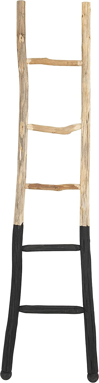 Japan Maker New Creative Co-op EC0244 Dipped Black Wood Decorative Ladder 67% OFF of fixed price