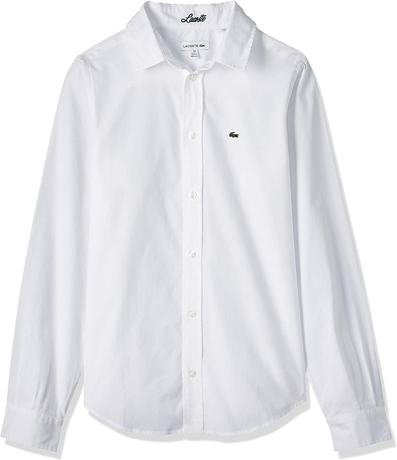 Lacoste Boy shop Long Sleeve Woven Classic Limited price sale Shirt Oxford