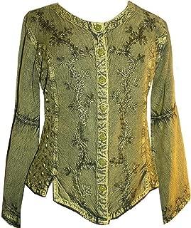 102 B Gypsy Medieval Renaissance Top Blouse