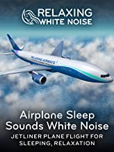 Relaxing White Noise: Airplane Sleep Sounds White Noise - Jetliner Plane Flight for Sleeping, Relaxation