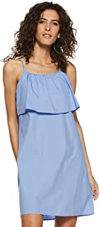 VERO MODA Women's Cotton Shift Dress
