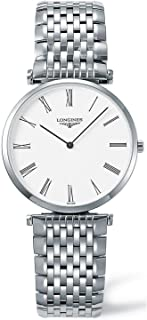 Longines Men's L47094116 La Grande Classique Analog Quartz Stainless Steel Watch