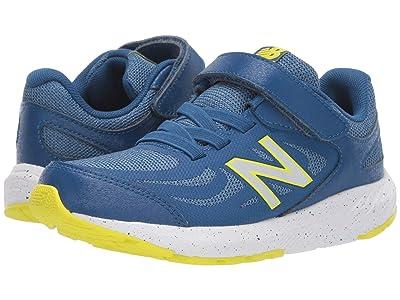 New Balance Kids 519v1 (Little Kid/Big Kid) (Andromeda/Blue Chambray) Boys Shoes