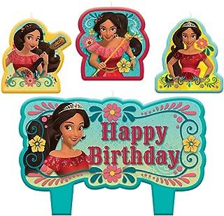Elena of Avalor Mini Candle Set (4pc)