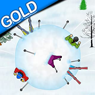 Winter Mountain Avalanche Snowball : Run like Hell in the snow - Gold Edition