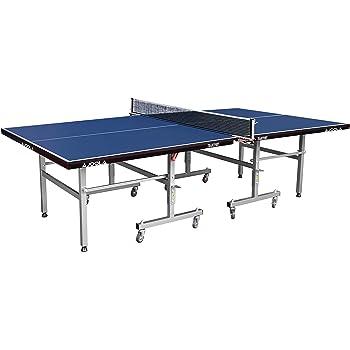 JOOLA Tischtennistisch Transport Indoor Tischtennisplatte Schul und Vereinssport Transportsystem Schneller Aufbau