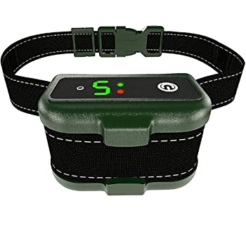TBI Pro Shock Collar for Dogs - Effective K9 Professional Dog Bark Collar with Barking Detection - Rechargeable Anti-Barking Modes - Shock, Vibration for Small, Medium, Large Breeds - IPx7 Waterproof