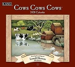 Lang Cows Cows Cows 2020 Wall Calendar (20991001909)