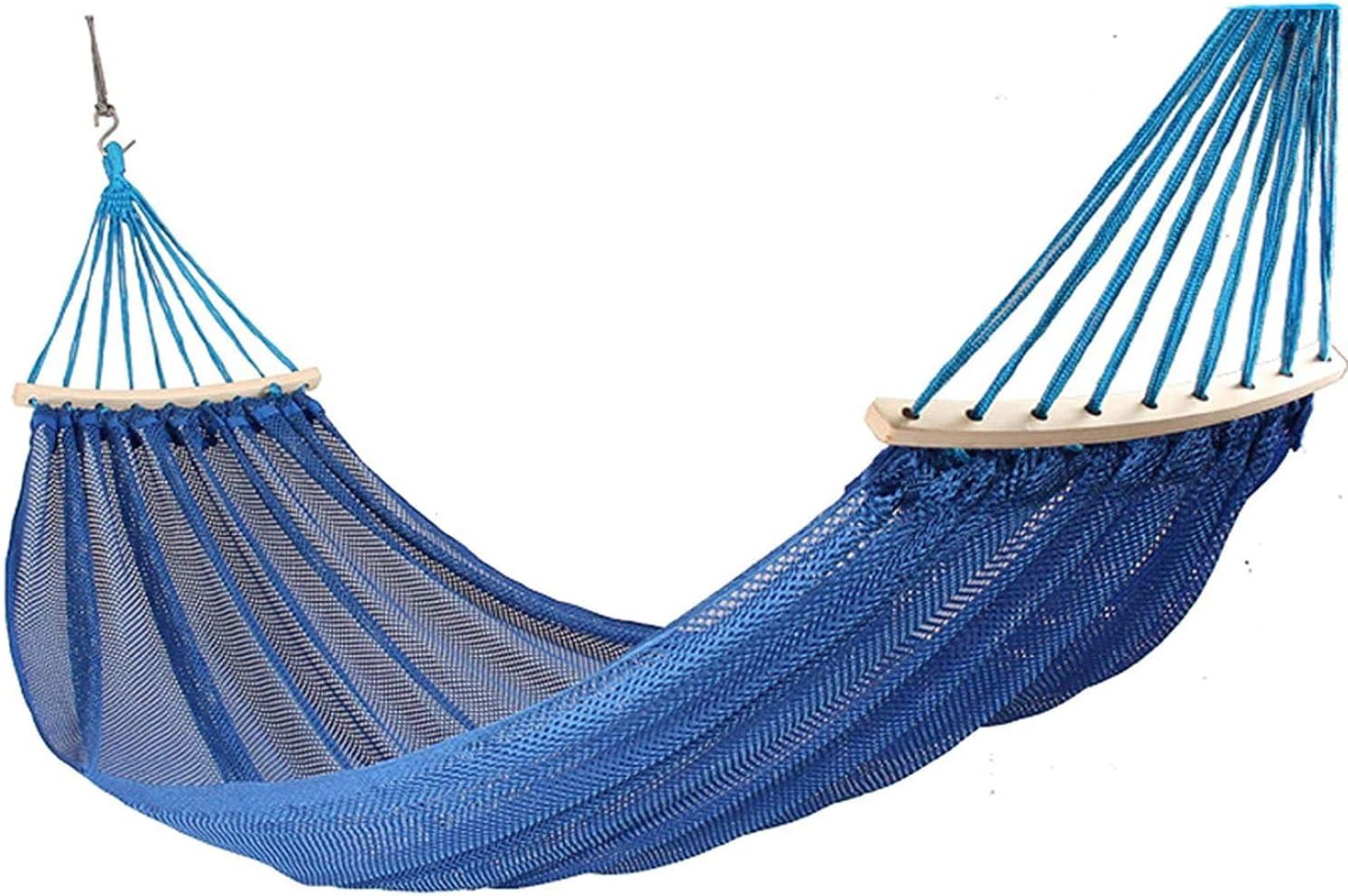 RVTYR Hanging Camping Hammock Mesh Anti-Rollov Breathable Trust Casual Max 42% OFF