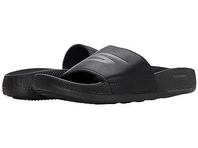 SKECHERS Go Hyper Slide (Black) Women