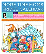 More Time Moms 2020 Deluxe Fridge Calendar - 16 Month Calendar from September 2019 to December 2020 - Magnetic Family Organizer with Stickers for Chores, Rewards, Appointments, and Reminders