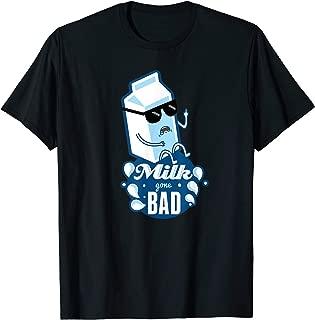 Funny Milk gone Bad Shirt with Middlefinger T-Shirt