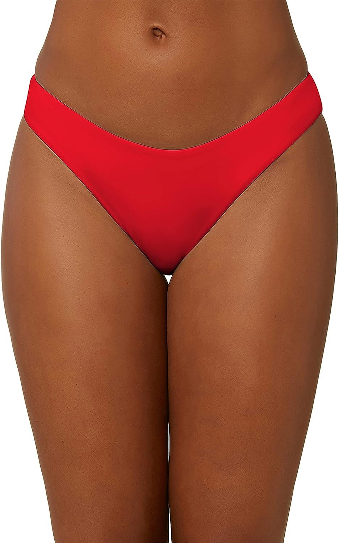 O'NEILL Women's High Waist Hipster Bikini Swimsuit Bottom