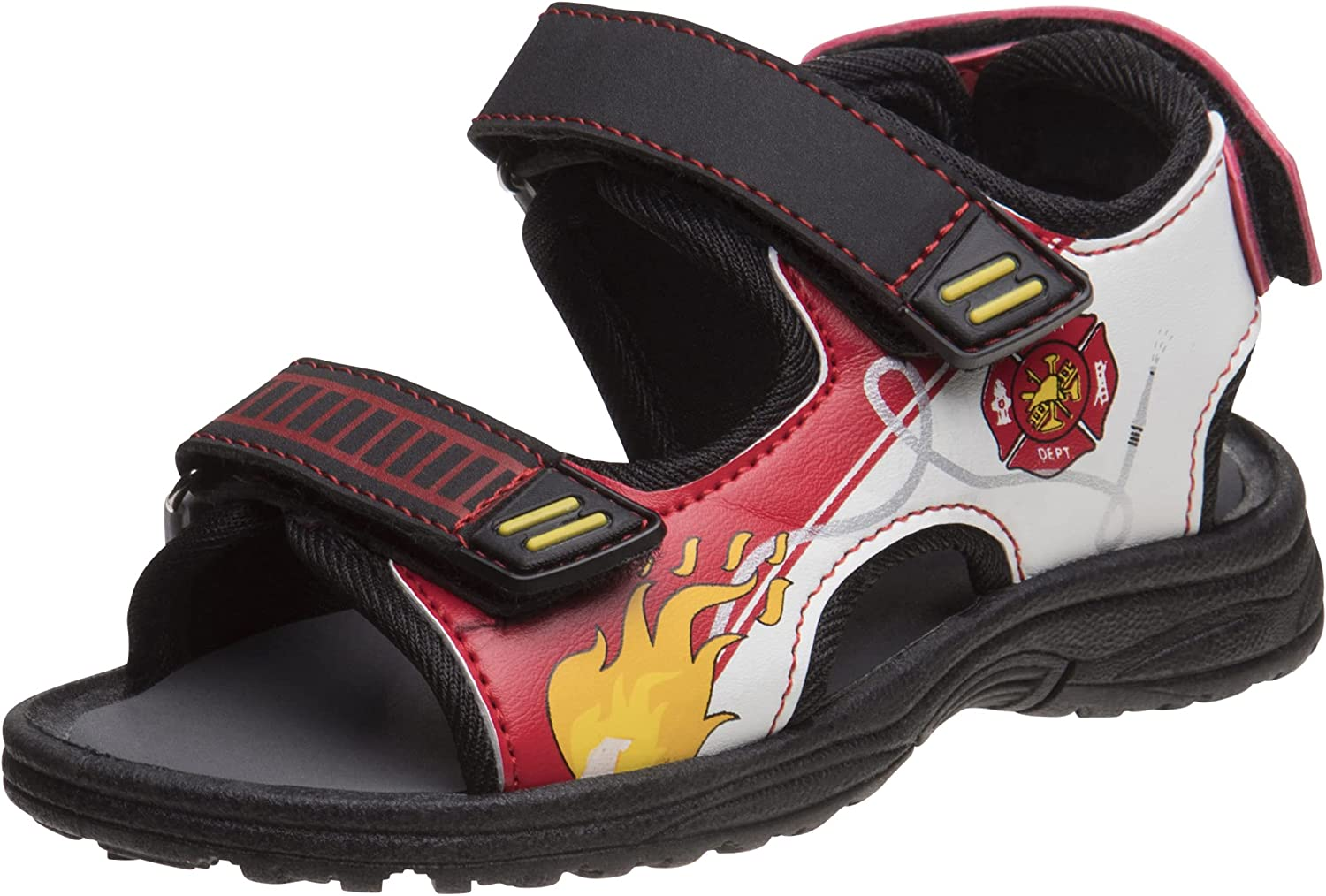 Under blast sales Rugged Bear Toddler Boys' Sandals - Toe Sports Strap Double Open Outlet ☆ Free Shipping