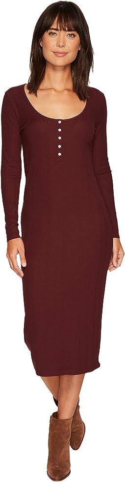 Tavik - Hideaway Long Sleeve Midi Dress